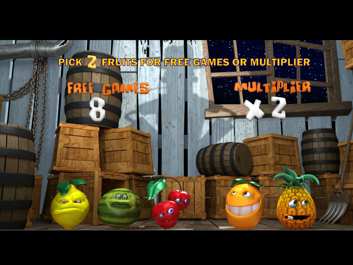 Funky Fruits Farm online free