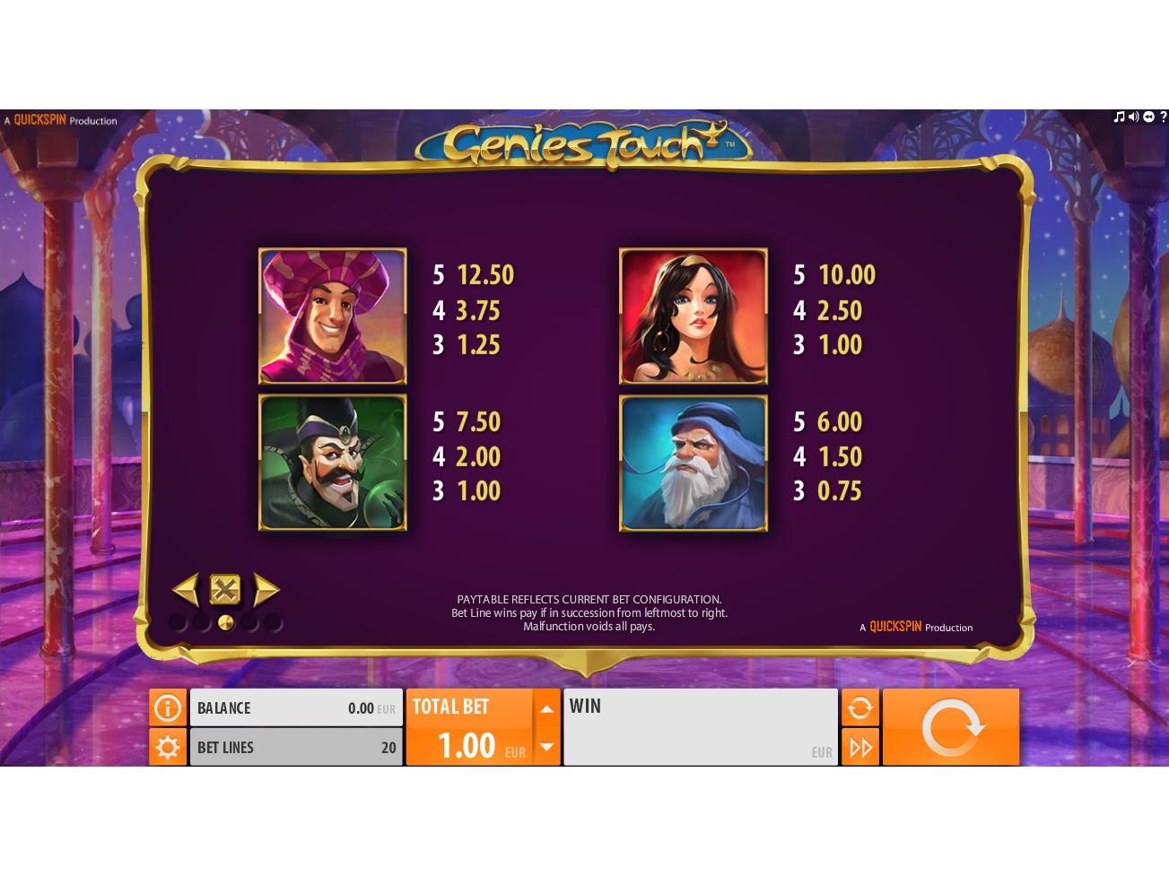 Genie's Touch online kostenlos