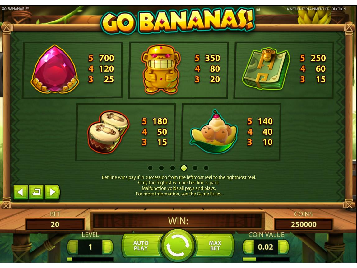 Go Bananas! online kostenlos