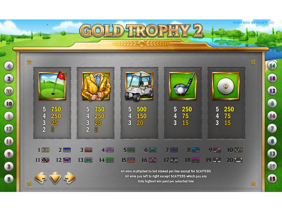 Gold Trophy 2 online kostenlos