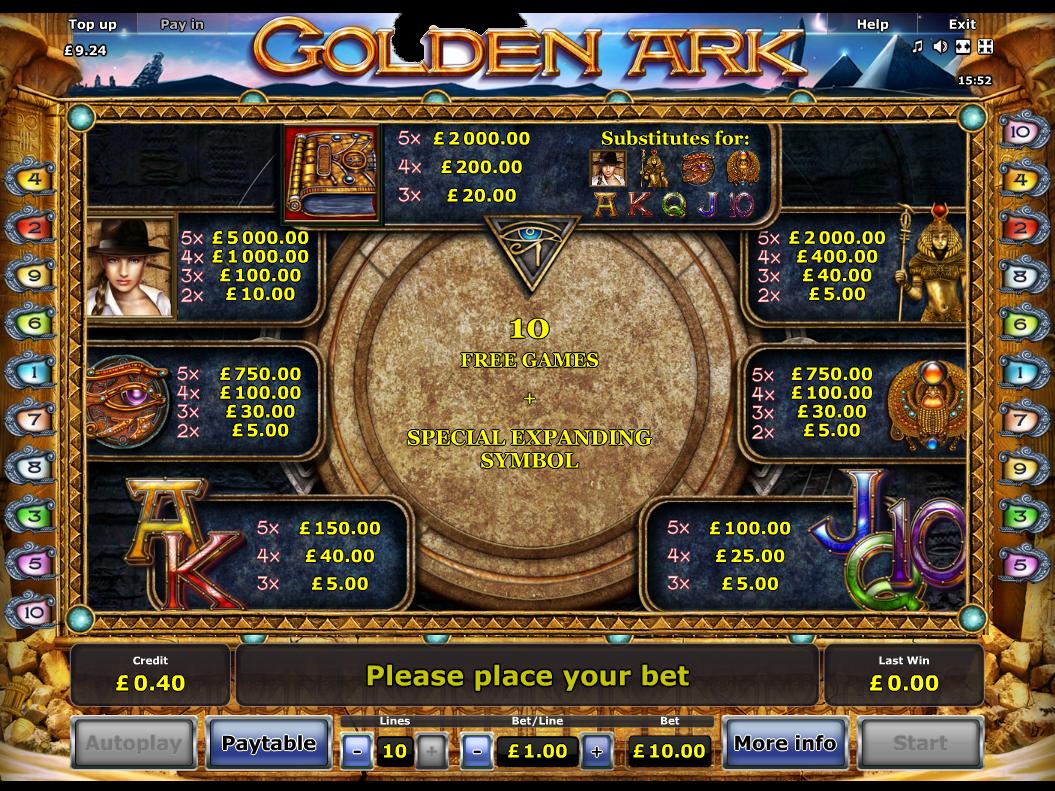 Golden Ark online free