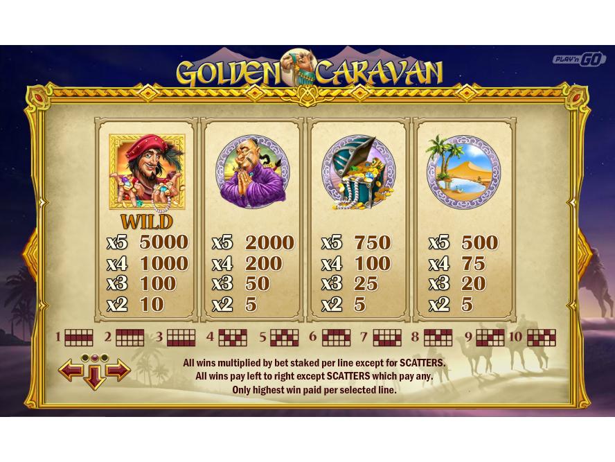 Golden Caravan online gratis