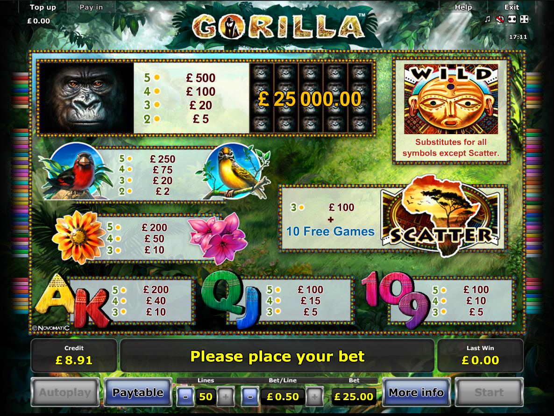 Gorilla online free
