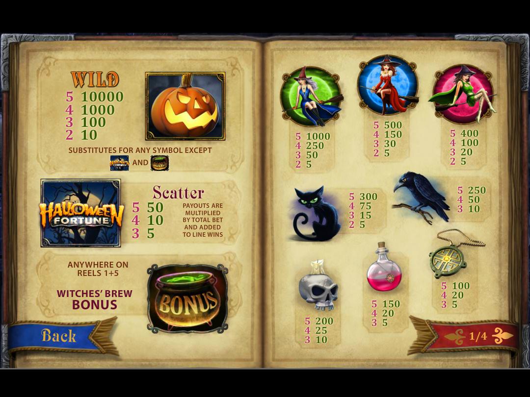 Halloween Fortune online free