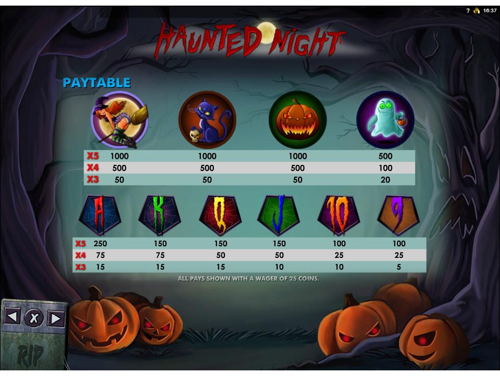 Haunted Night online kostenlos