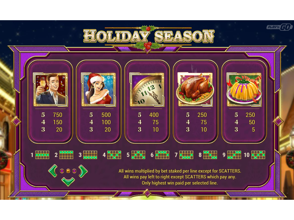 Holiday Season online gratis
