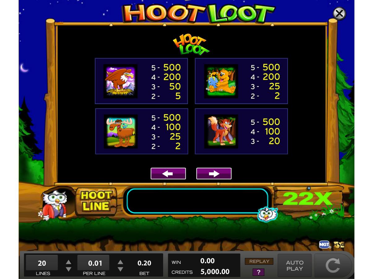 Hoot Loot online gratis