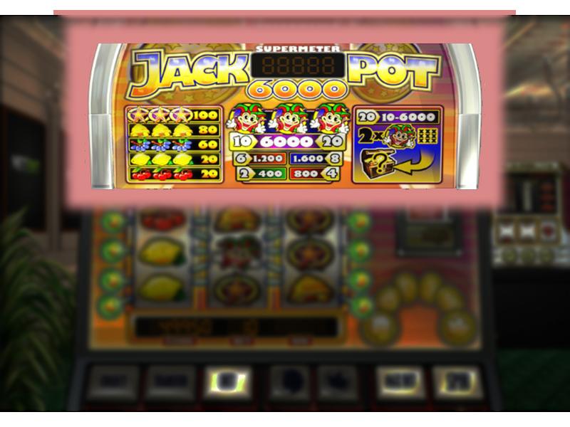 Jackpot 6000 online kostenlos