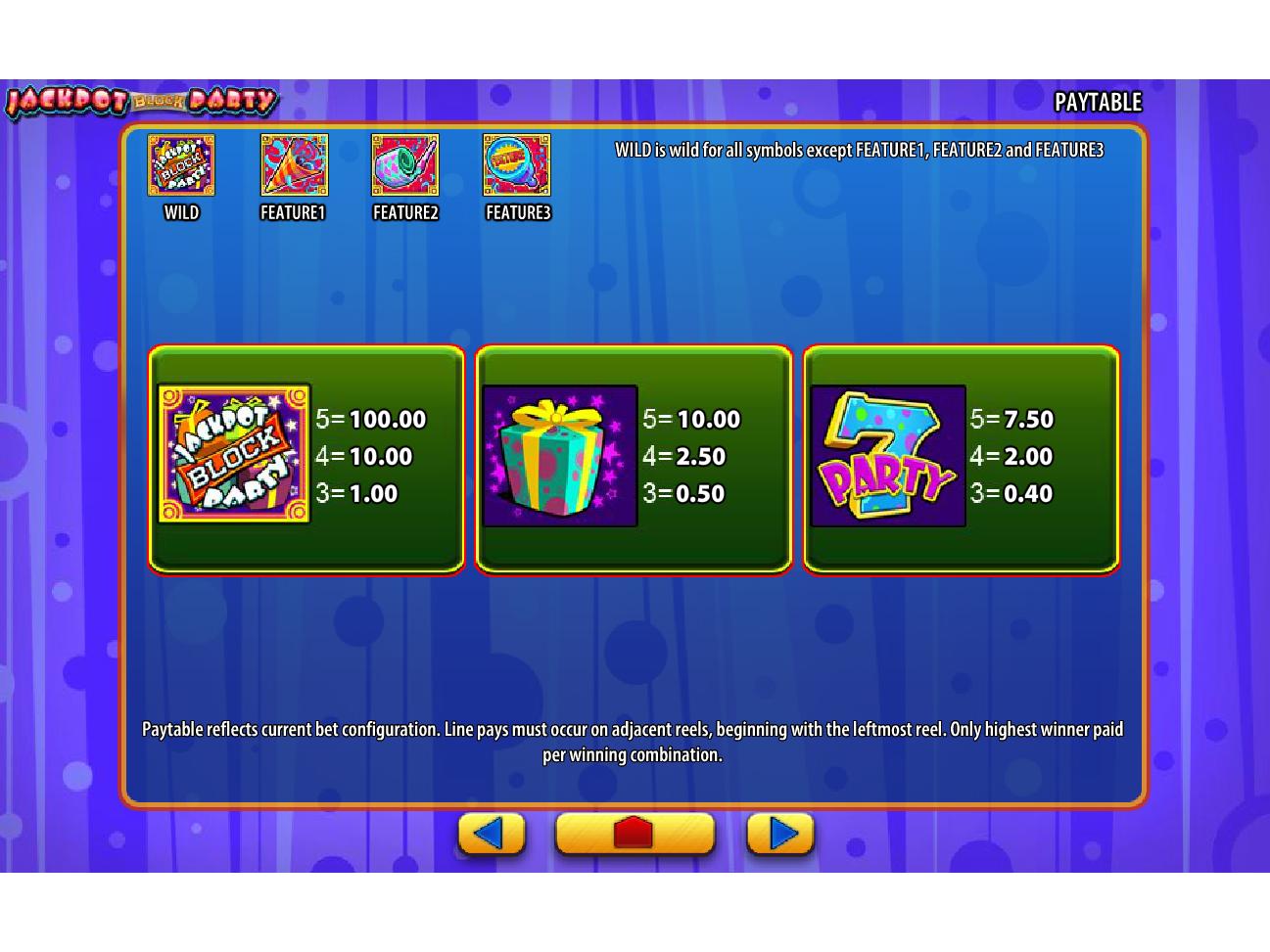 Jackpot Block Party online free