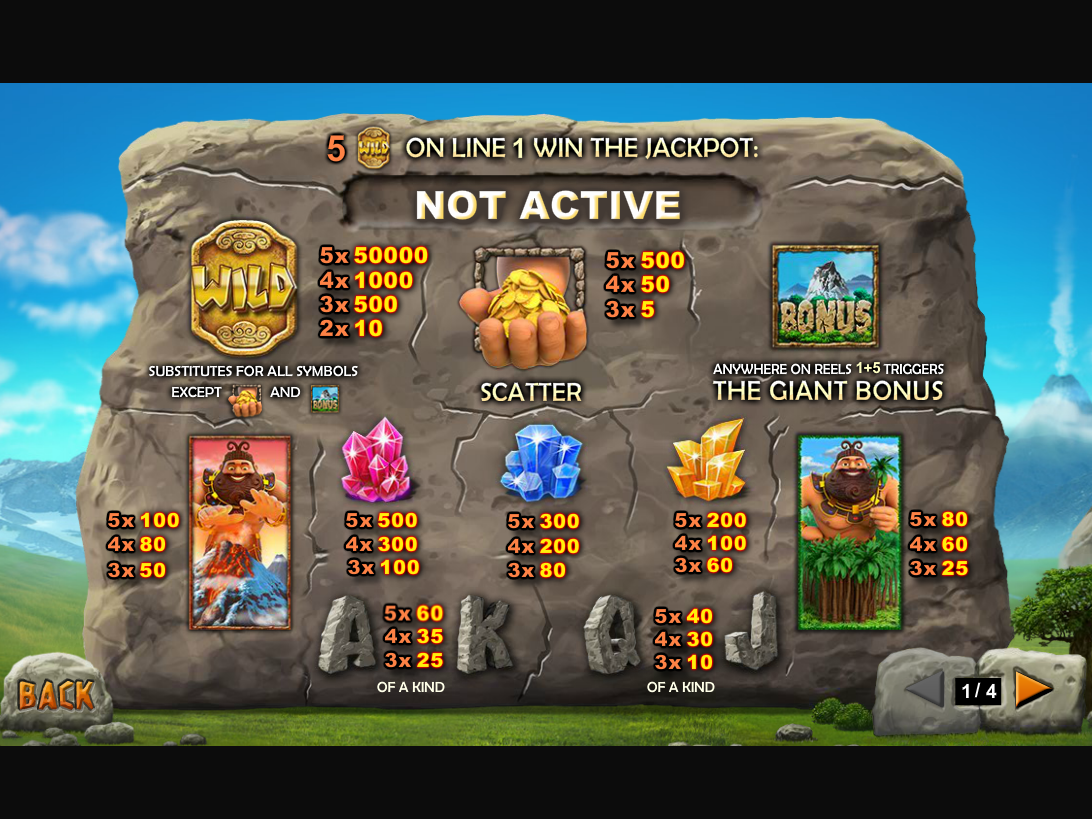 Jackpot Giant online free