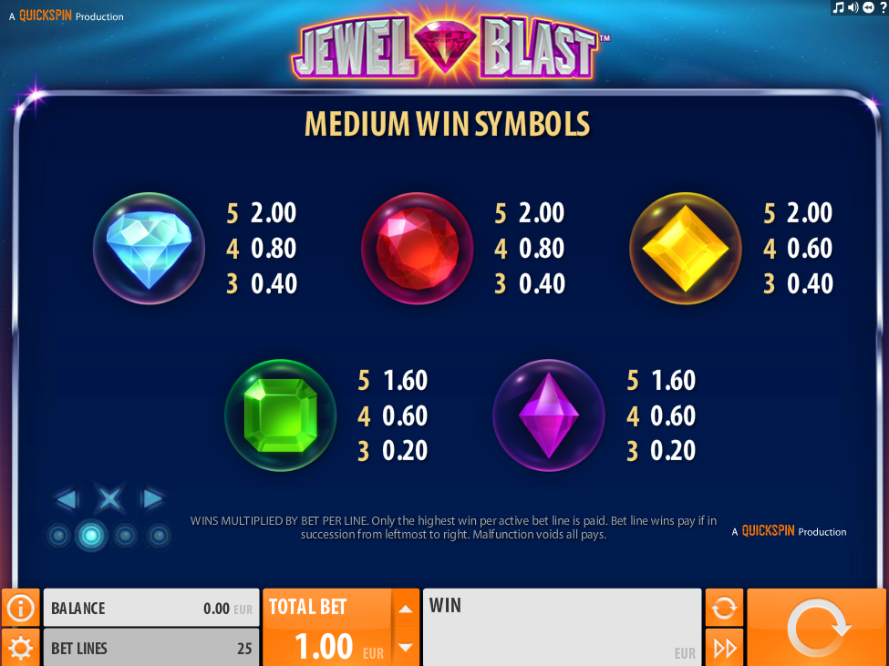 Jewel Blast online kostenlos