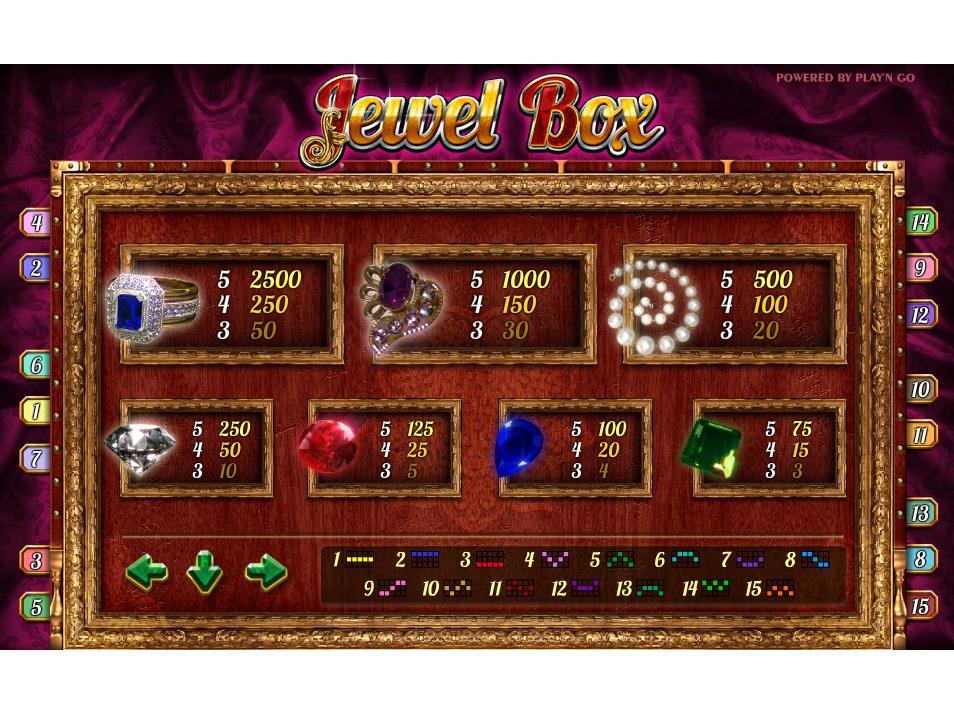 Jewel Box online kostenlos