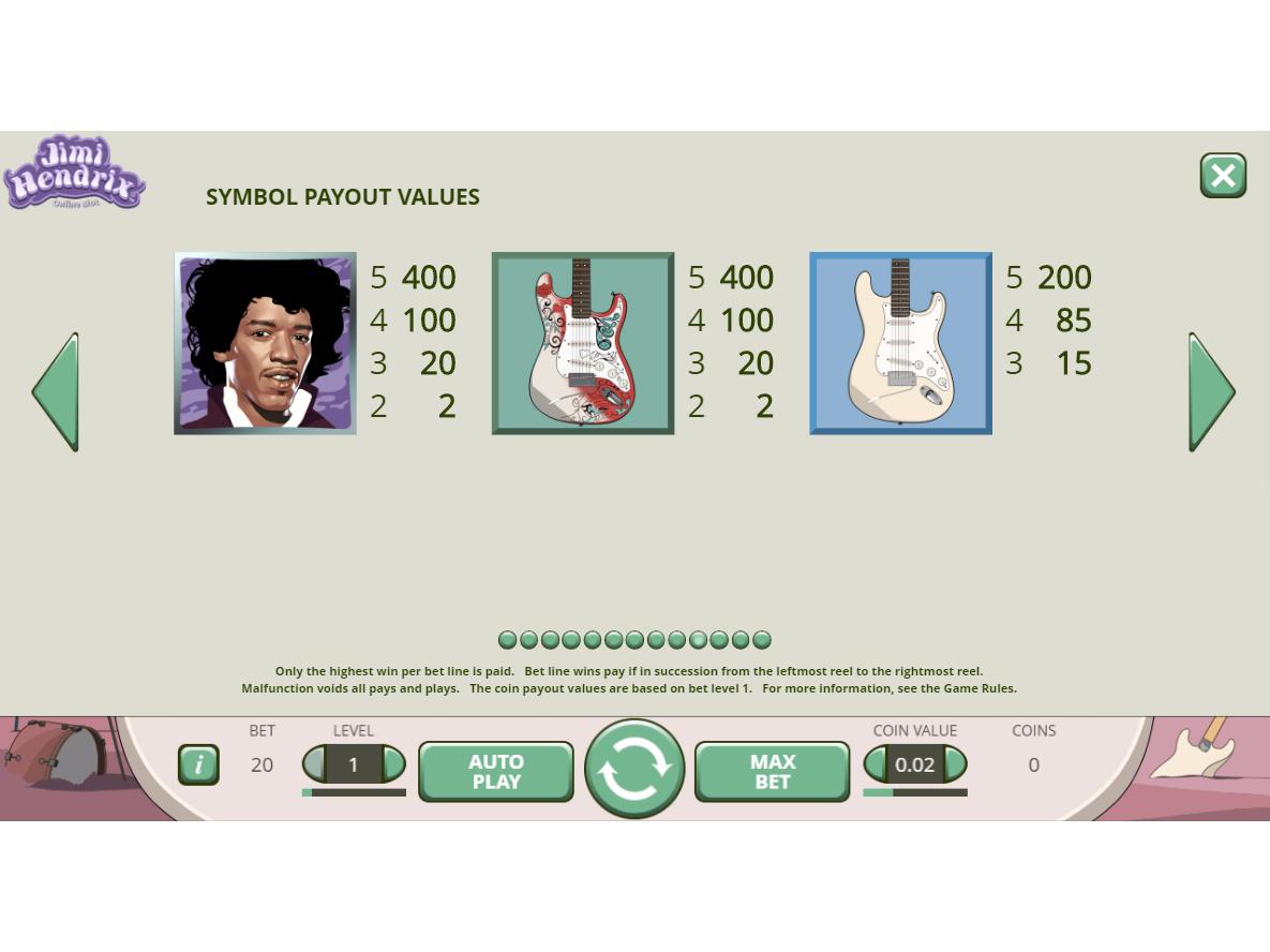 Jimi Hendrix online kostenlos