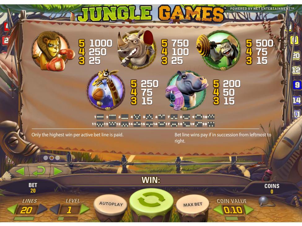 Jungle Games online kostenlos