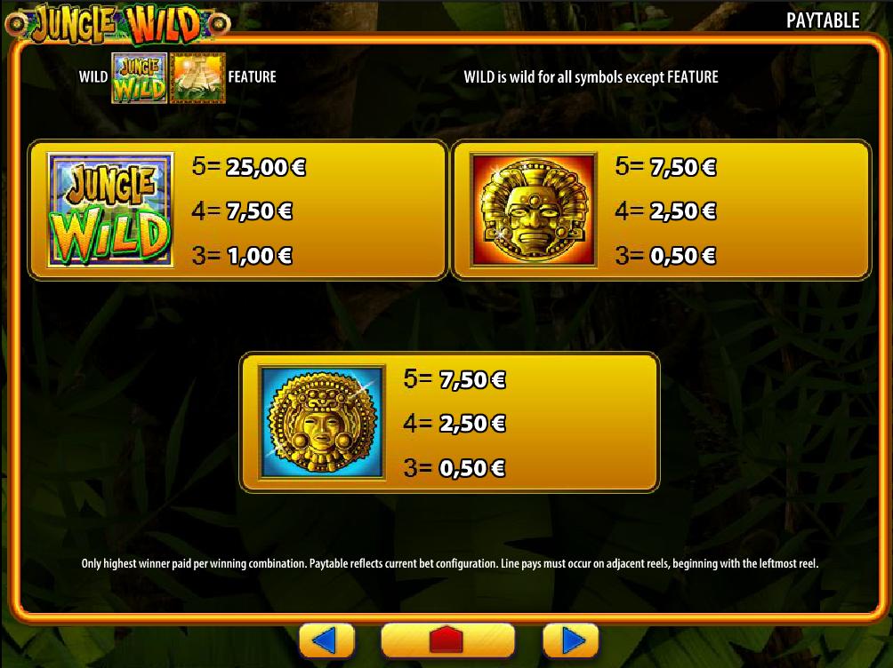 Jungle Wild online kostenlos