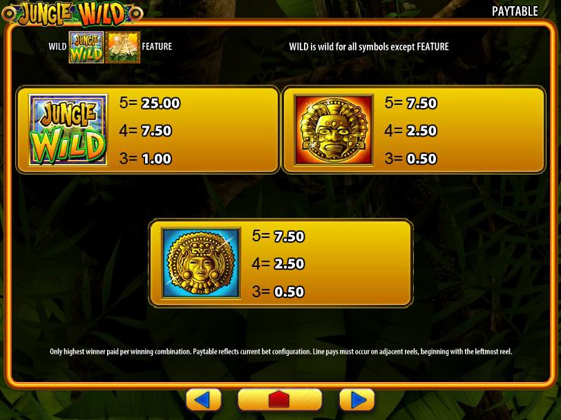 Jungle Wild online gratis