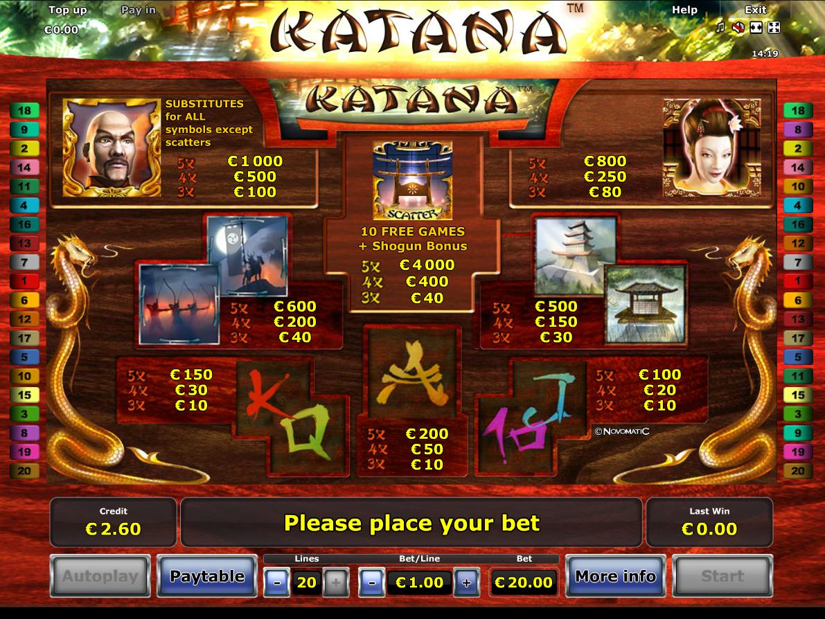 Katana online kostenlos