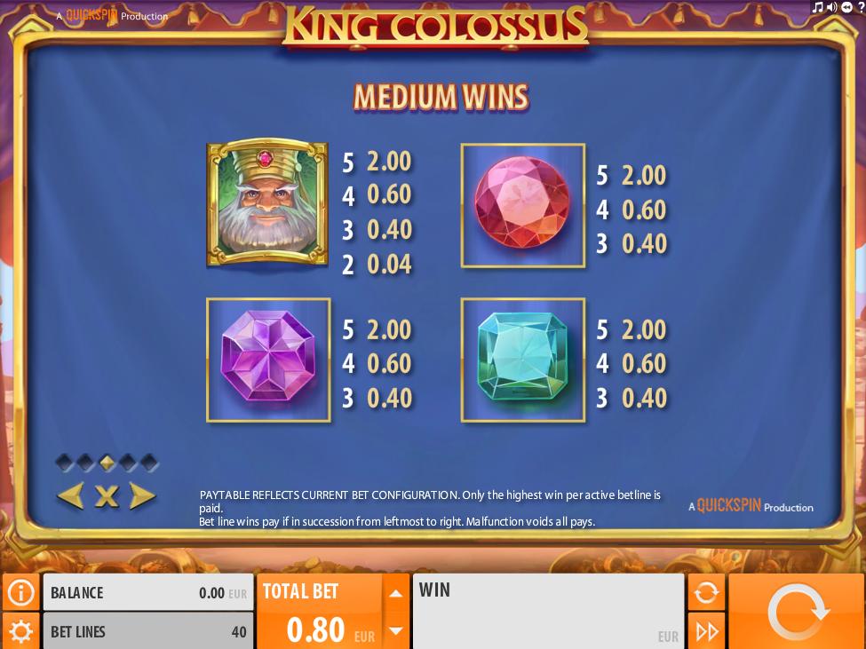 King Colossus online kostenlos