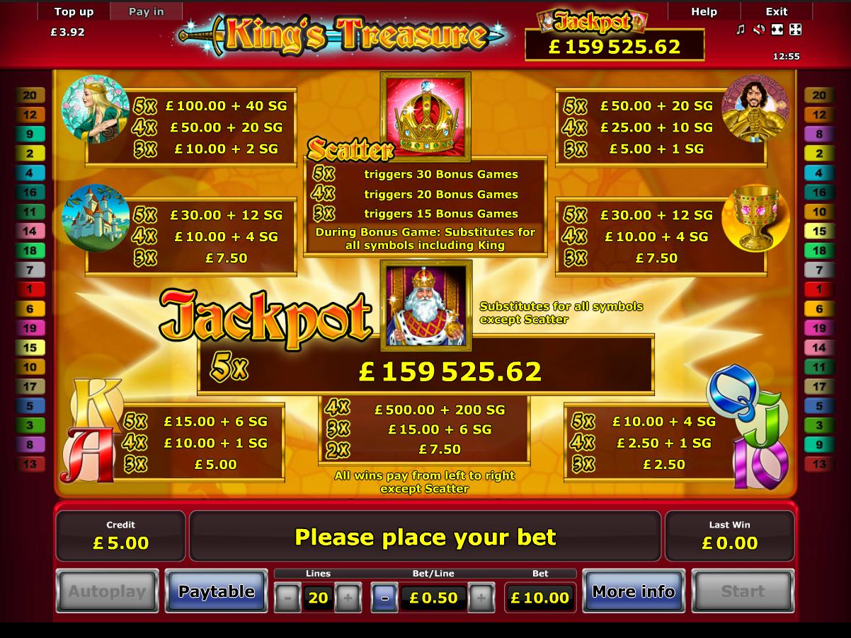 King's Treasure online free