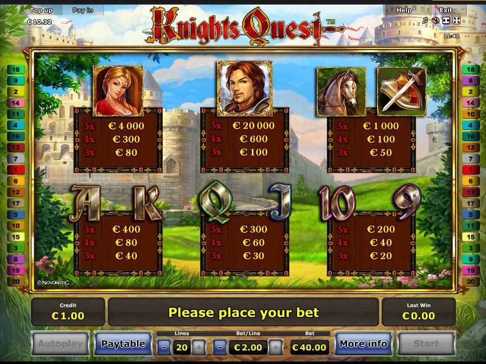 Knights Quest online kostenlos