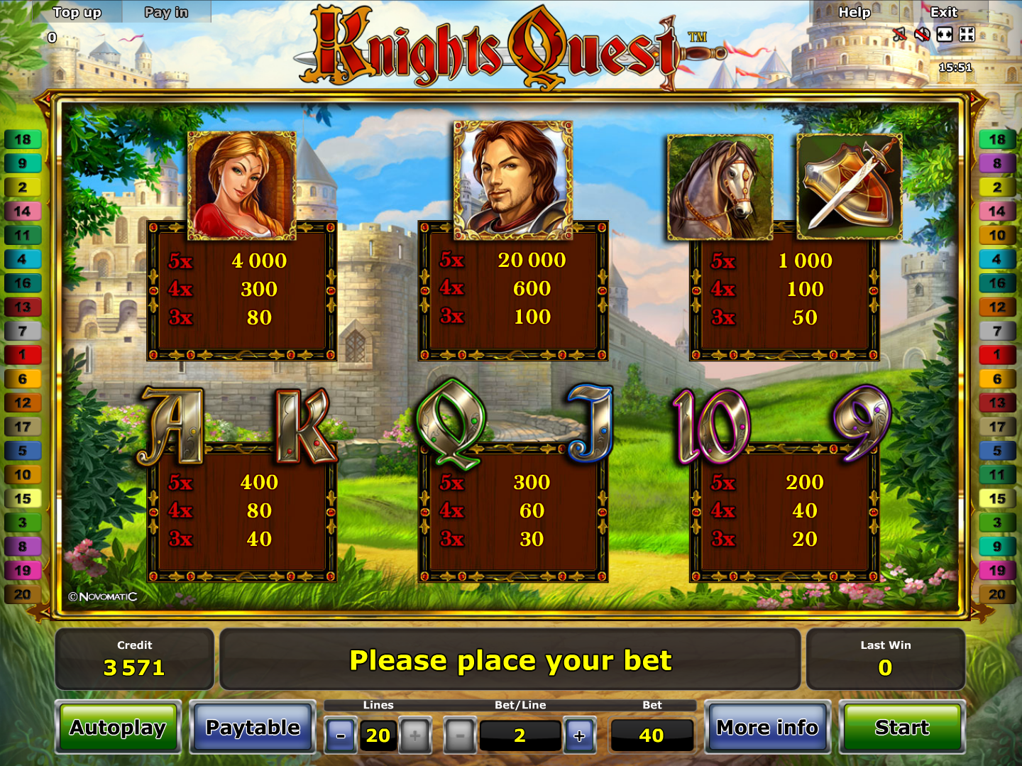 Knights Quest online free