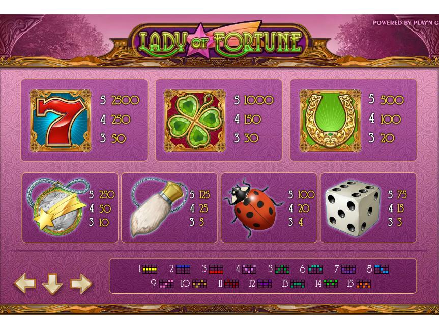 Lady of Fortune online kostenlos