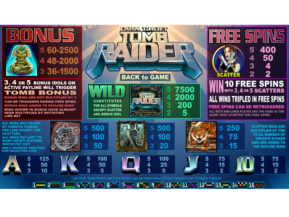 Lara Croft: Tomb Raider online free
