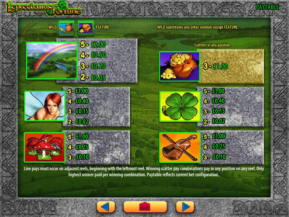 Leprechaun's Fortune online free