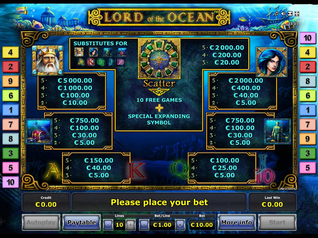 Lord of the Ocean online kostenlos