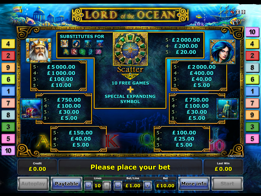 Lord of the Ocean online free