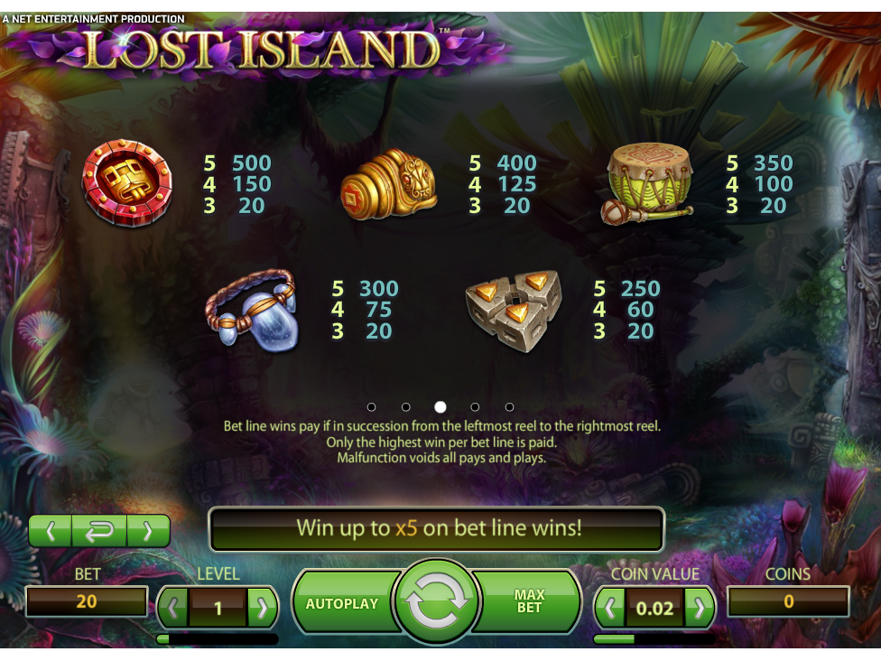 Lost Island online kostenlos