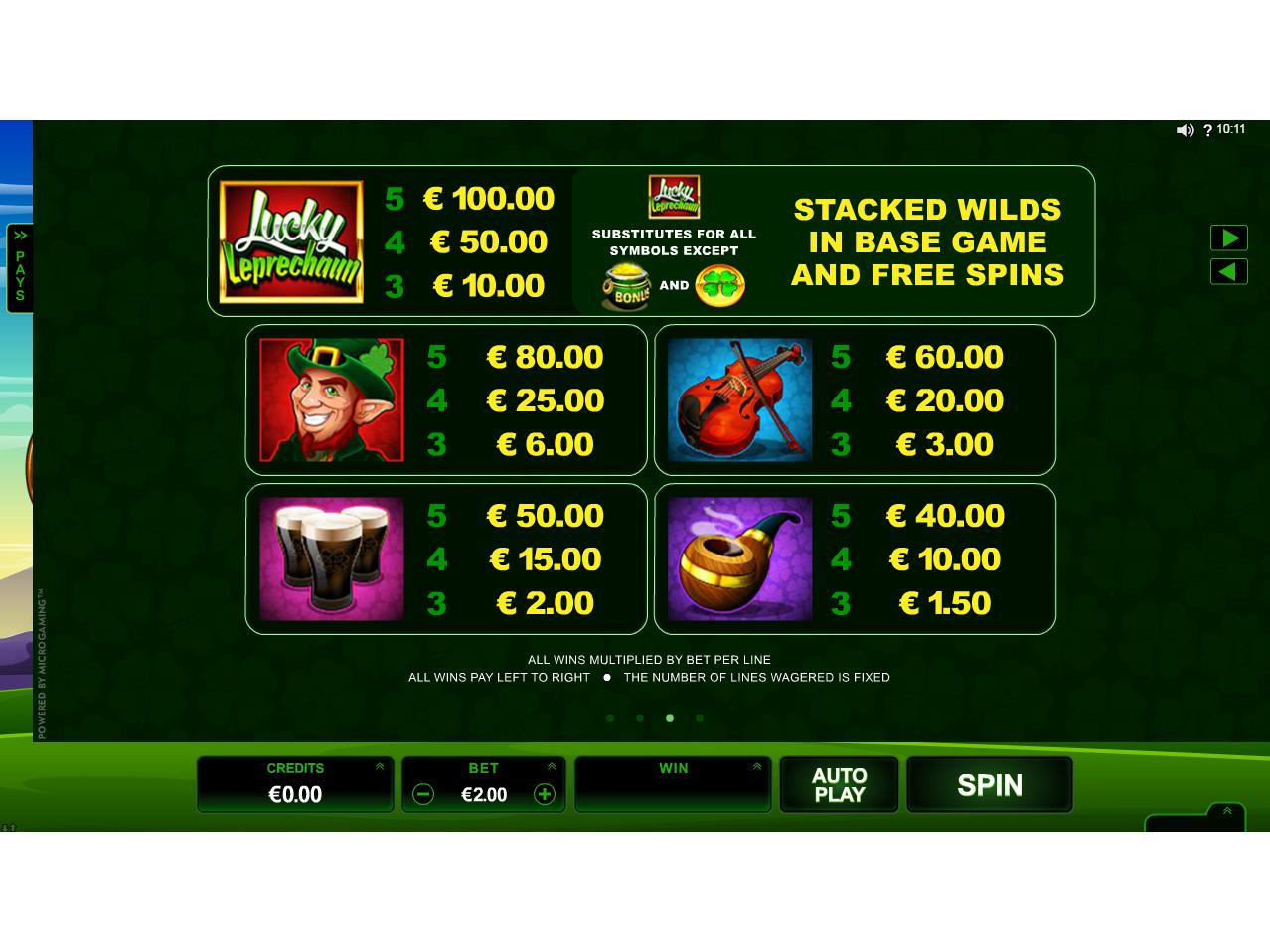 Lucky Leprechaun online kostenlos