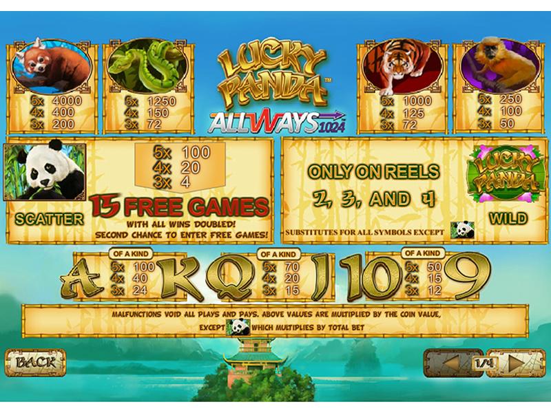 Lucky Panda online free