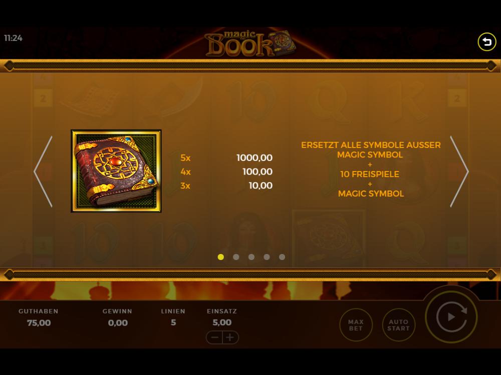Magic Book kostenlos online spielen