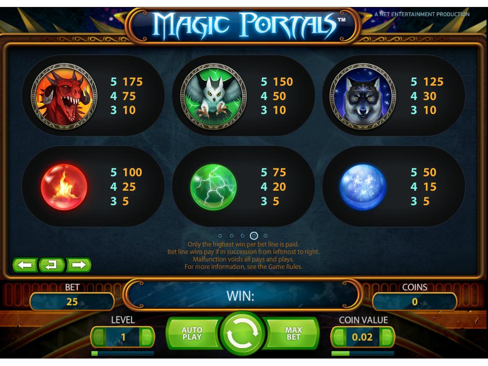 Magic Portals online kostenlos