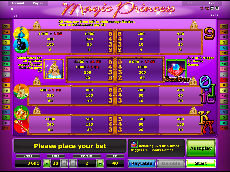 Magic Princess online free