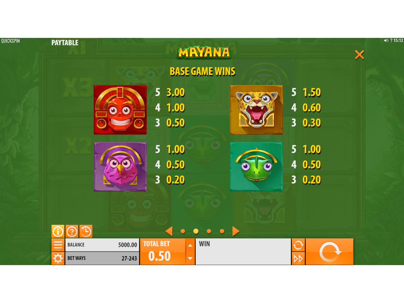 Mayana online gratis
