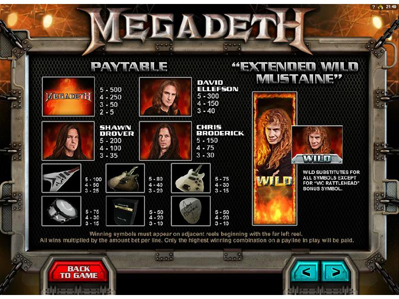 Megadeth online free