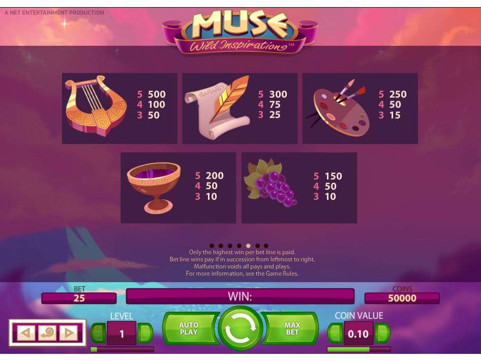 Muse: Wild Inspiration online kostenlos