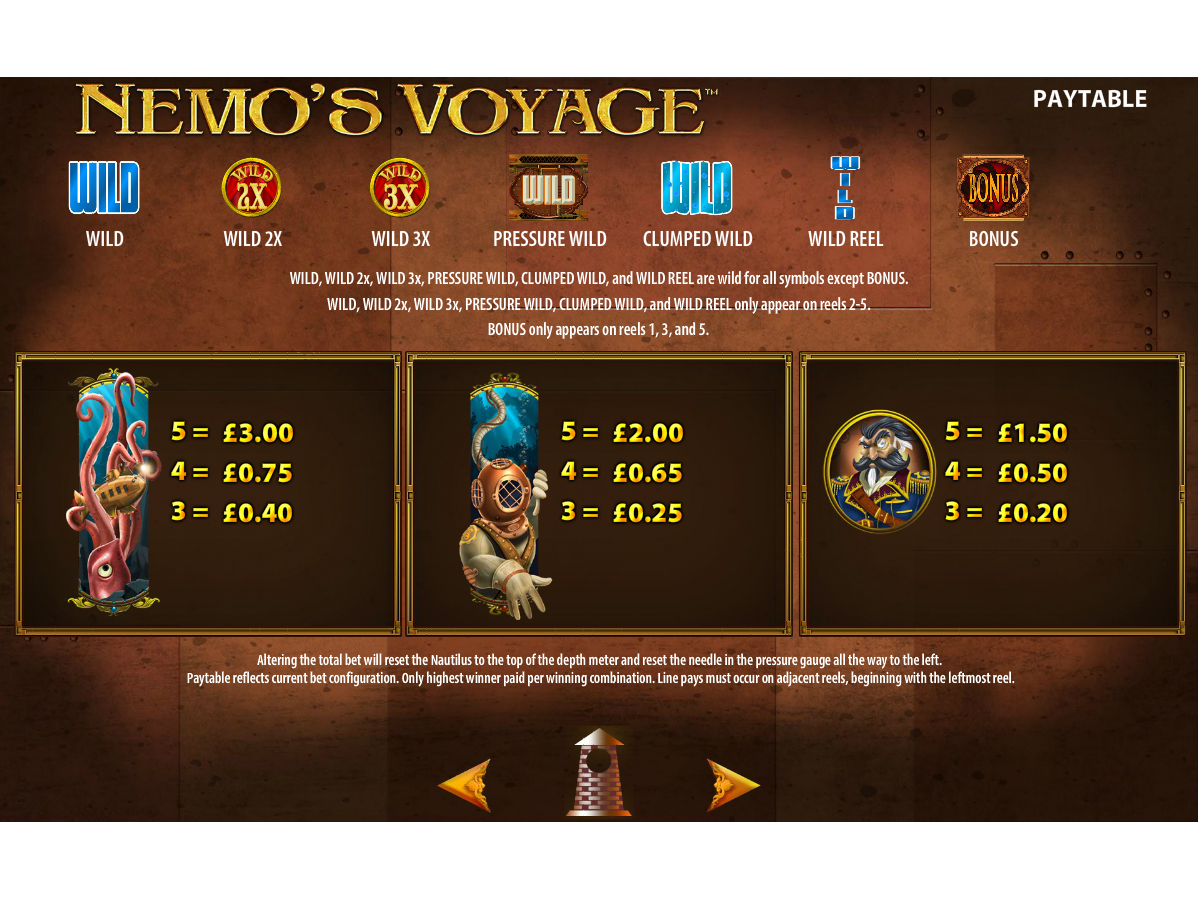 Nemo's Voyage online free