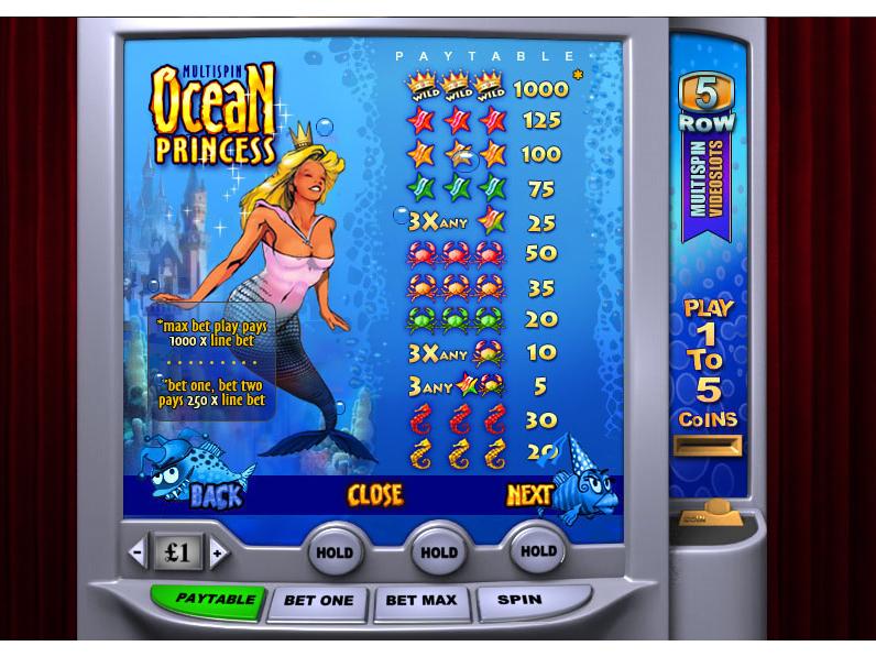 Ocean Princess online gratis