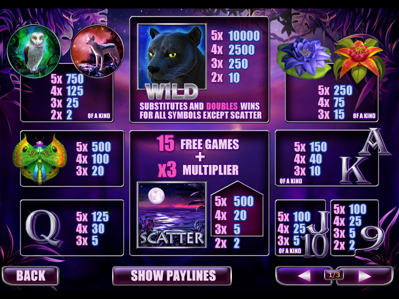 Panther Moon online free