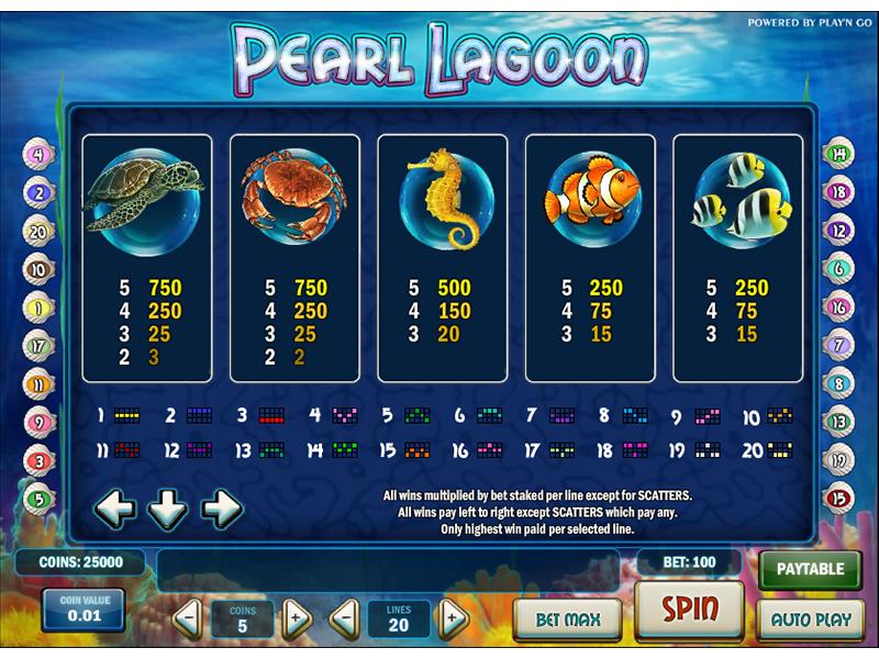 Pearl Lagoon online gratis