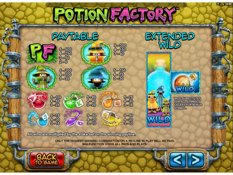 Potion Factory online kostenlos