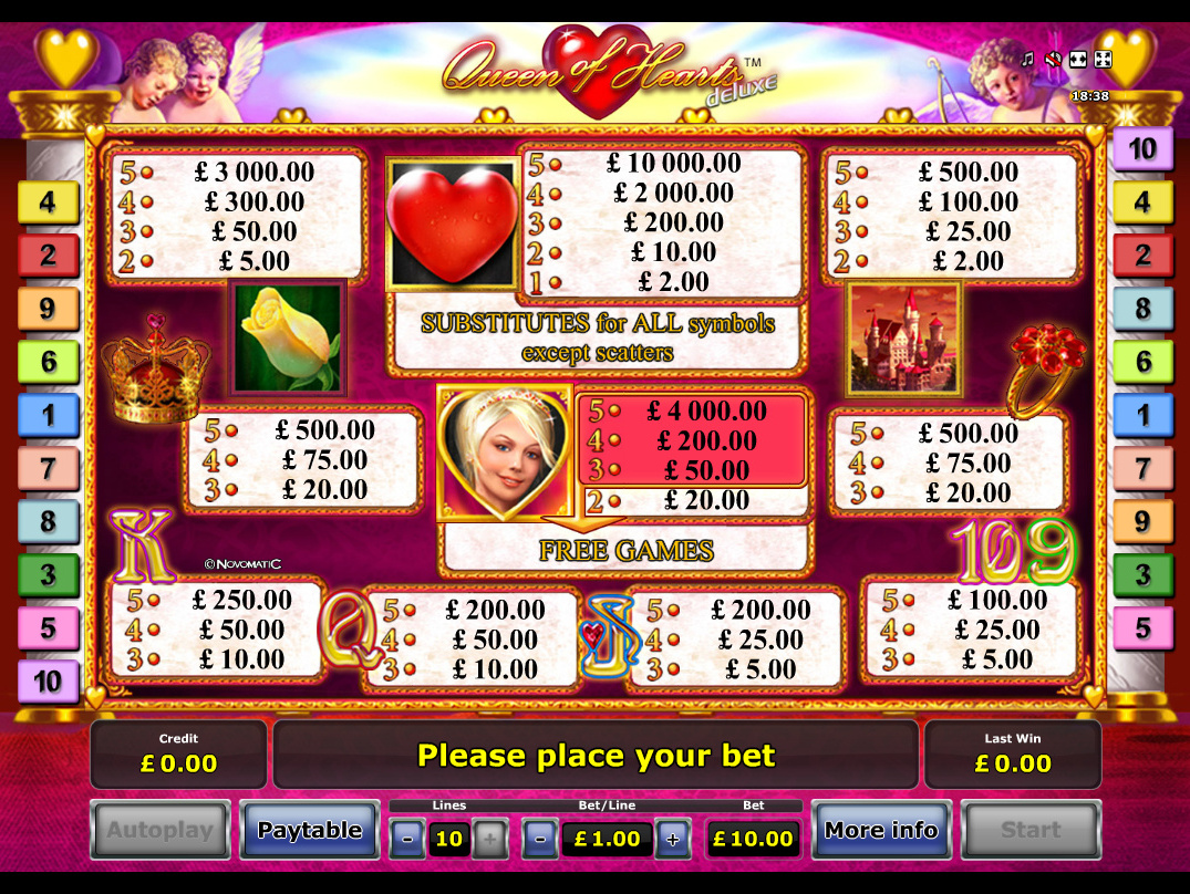 Queen of Hearts Deluxe online free