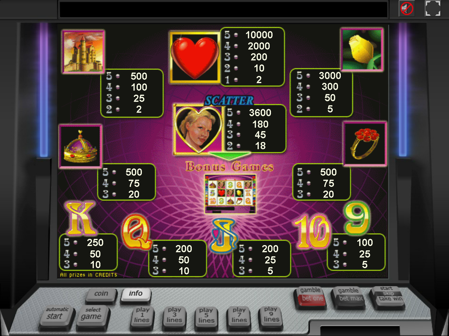 Queen of Hearts online free