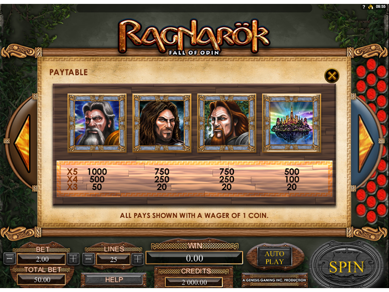 Ragnarok: Fall of Odin online free