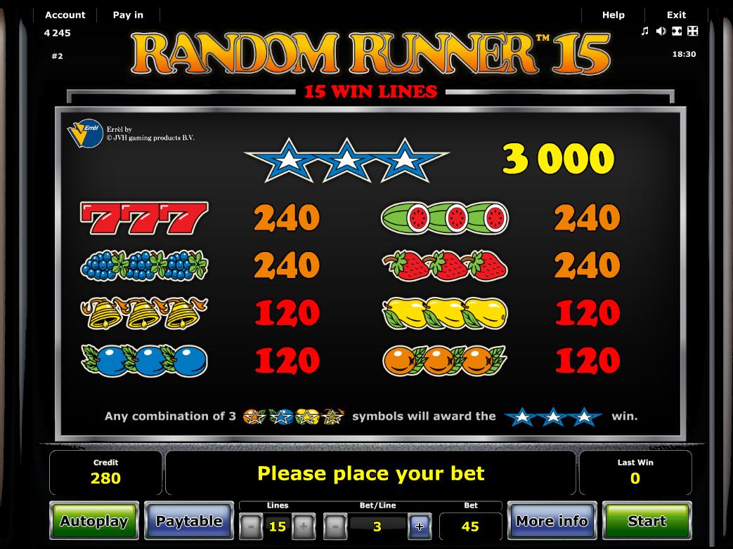 Random Runner 15 online kostenlos