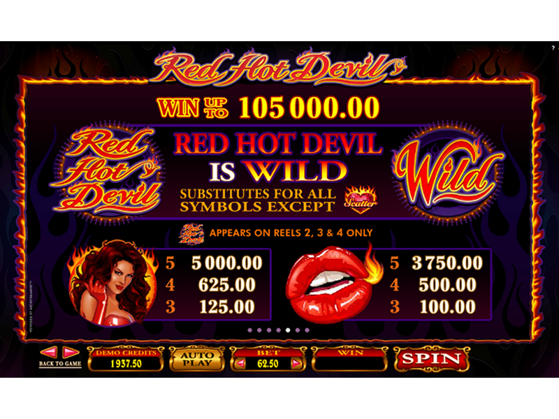 Red Hot Devil online gratis