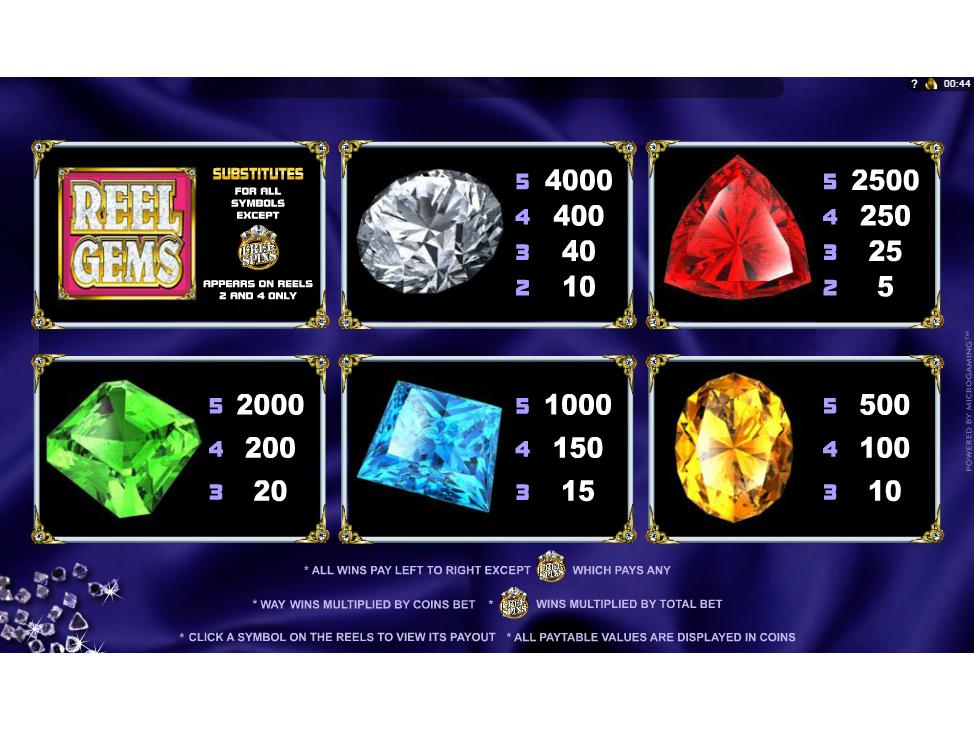 Reel Gems online free